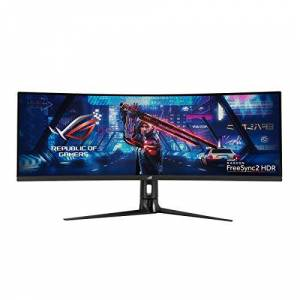 Asus ROG Strix XG43VQ 43.4 inch LED 1ms Gaming Curved Monitor - 3840 x 1200 Resolution, 1ms Response, Speakers, HDMI