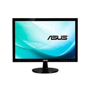 Asus VS197DE 18.5 Inch Widescreen LED Monitor - (Black) 1366 x 768, 5 ms, VGA, Excellent Visual Performance