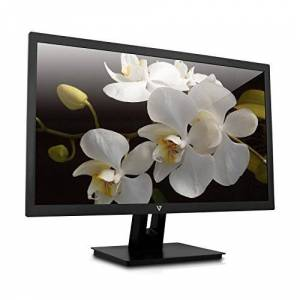 V7 22-Inch Class IPS 1080 Full HD Widescreen LED Monitor - Black