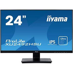 """IIYAMA XU2492HSU-B1 24"""" ProLite IPS Slim LED Monitor - Black"""