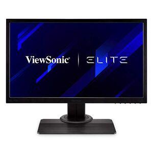 ViewSonic Elite XG240R 24-inch Full HD Gaming Monitor with AMD FreeSync, 144Hz, 1ms, DisplayPort, 2x HDMI, RGB lighting, Eye Care, Advanced Ergonomics for Esports