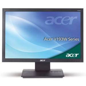 Acer 19-inch Widescreen Monitor (5ms, 50000:1, Black)