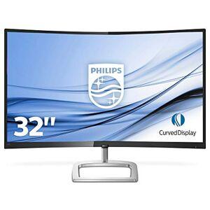 Philips 328E9FJAB 31.5 Inch Curved VA LED Quad HD (2560 x 1440) Freesync 75 Hz Monitor with speakers, (VGA, HDMI, DisplayPort), Black