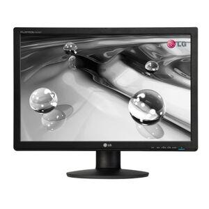 "LG W2242P 22"" wide LCD monitor, DVI, black, Narrow bezel, height (110mm) adjust/pivot, FLATRON f engine, 8000:1 (DFC) contrast ratio, 5ms response"