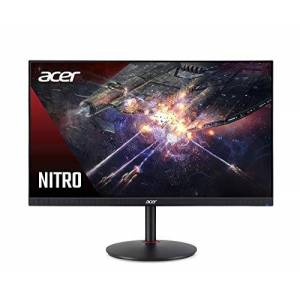 Acer XZ272Pbmiiphx 27 inch FHD Curved Gaming Monitor, Black (VA Panel, FreeSync, 165 Hz, 4ms, HDR 400, DP, HDMI, Height Adjustable Stand)