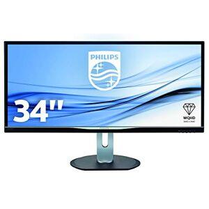Philips 34-Inch HDMI Monitor - Black