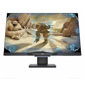 HP 27mx 144 Hz Full HD Gaming Monitor (1920 x 1080) with AMD FreeSync and Height adjust Stand, 1 ms Response Time, (1 DP, 1 HDMI) Black /Blue