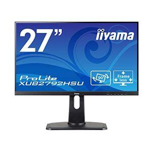 """IIYAMA ProLite XUB2792HSU-B1 27"""" 21:9 Ultra Wide IPS, 1920 x 1080, Black, HDMI, Display Port, USB Hub, Height Adjustable"""
