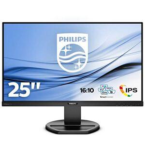 "Philips 252B9 - 25"" LCD monitor with PowerSensor, Speakers, Height adjust (1920 x 1200 @ 60 Hz, 5ms, 300 cd/m VGA,DVI,DP, HDMI, USB 3.1)"