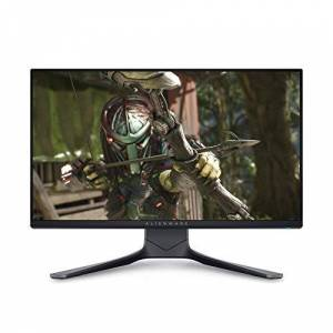 Alienware AW2521HF 24.5 inch Full HD (1920x1080) Gaming Monitor, 240Hz, IPS, 1ms, AMD FreeSync Premium, NVIDIA G-SYNC Compatible, DisplayPort, 2x HDMI, 5x USB 3.0, Adjustable Stand, 3 Year Warranty