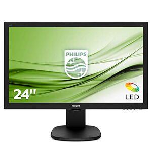 "Philips 243S5LDAB/00 24"" Full HD LCD Monitor, Speakers (1920 x 1080 @ 60 Hz, 1ms, Brightness 250 cd/m, VGA / DVI / HDMI)"