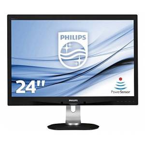 Philips 240B4QPYEB 24-Inch IPS Full HD Height Adjust Monitor with Speakers - Black