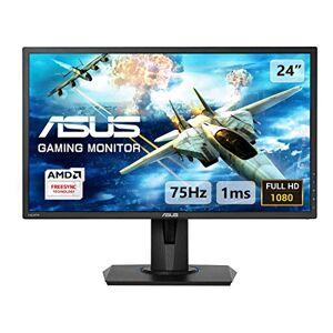 Asus VG245H 24 Inch FHD (1920 x 1080) Gaming Monitor, 1 ms, Up to 75 Hz, HDMI, D-Sub, Super Narrow Bezel, FreeSync via HDMI, Low Blue Light, Flicker Free