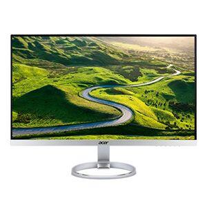 Acer H277HKsmipuz 27 inch UHD Monitor, Silver/White (IPS Panel, FreeSync, 4ms, HDR Ready, DP, HDMI, USB Type C, USB Hub)