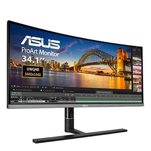 Asus ProArt Curved PA34VC 34 Inch Professional Monitor, UWQHD (3440 x 1440), IPS, 100% sRGB, E