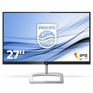 "Philips 276E9QJAB 27"" IPS Full HD (1920x1080) Freesync 75Hz monitor with Built-in speakers. (VGA, HDMI, DisplayPort) - Black/Silver"