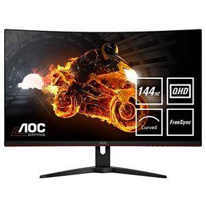 "AOC CQ32G1 31.5"" Curved VA LCD QHD (2560x1440) FreeSync 144Hz Gaming Monitor. (HDMI X 2, Displayport) - Black"