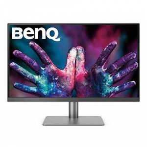 BenQ PD2720U Thunderbolt 3 Monitor for Graphic Design, 27 Inch 4K HDR UHD, DCI-P3 - Black
