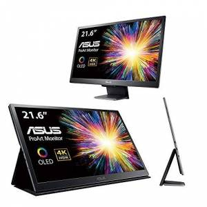Asus ProArt PQ22UC Professional Monitor, 4K (3840 x 2160), OLED, 99% DCI-P3, HDR, Smart Detachable Stand
