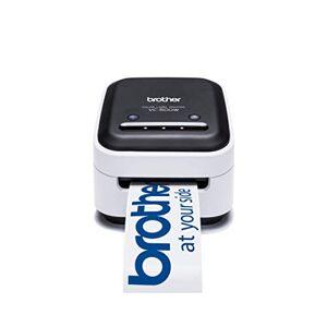 Brother VC-500W Label Maker, Full Colour Labeller Photo Printer, Wireless, Desktop, ZINK (Zero-Ink) Printing Technology