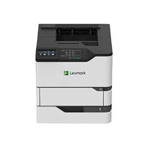 Lexmark MS822de - Imprimante - Noir et blanc - Recto-verso - laser - A4/Legal - 1200 x 1200 ppp - jusqu' 52 ppm - capacit : 650 feuilles - USB 2.0, Gigabit LAN, hte USB 2.0