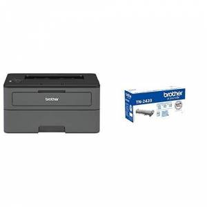 Brother HL-L2375DW Mono Laser Printer with Additional TN-2420 Toner Cartridge