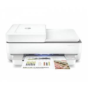 HP ENVY Pro 6430 All-in-One Printer with Wireless Printing, Instant Ink with 4 Months Trial, White