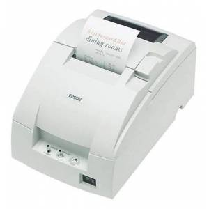Epson TM-U220BReceipt printer (4KB, ERC-38, 9-pin, 6.0LPS), White