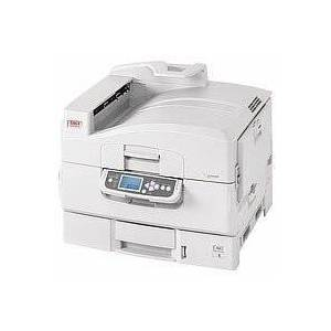 Oki C9600N Colour Laser printer, 40 pages per minute PAR,USB2 Ethernet 256MB 1200X600DPI