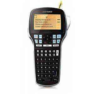 Dymo S0915490 Label Manager 420P Handheld Label Maker ABC Keyboard, Black