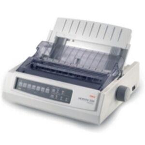 Oki Microline 3390 - Printer - B/W - dot-matrix - Roll (25.4 cm) - 360 dpi x 360 dpi - 24 pin - up to 390 char/sec - parallel
