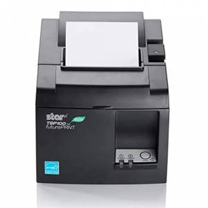 STAR MICRONICS 39464990 TSP143LAN EU & UK W/PSU DEDICATED ETHERNET AUTOCUTTER IN - (Printers  Point of Sale Printers)
