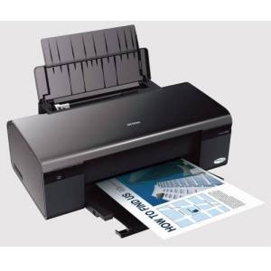 Epson Stylus D120 Network Edition ultra fast printer with individual ink cartridges & low running costs