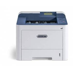Xerox Phaser 3330dni Wireless A4 Mono Laser Printer with Duplex 2-Sided Printing, White/Blue