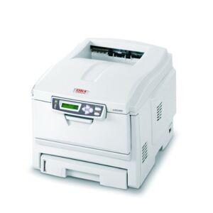 Oki C5250N Colour Laser printer, 24 pages per minute USB2 Ethernet 96MB 1200X600DPI 300Sheets