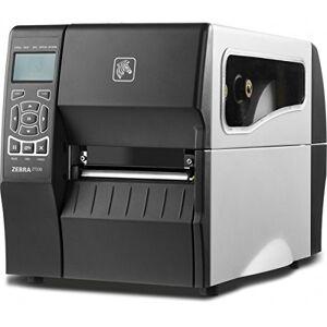 Zebra ZT23043-T3E200FZ TT Printer ZT230, 300 dpi, Euro and UK Cord, Serial, USB, Int 10/100, Liner Take Up with Peel