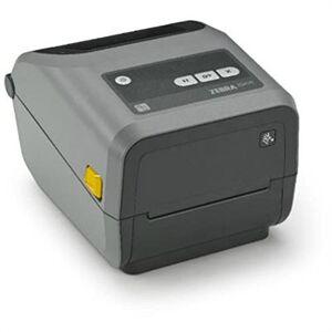 "Zebra ZD42042-C0EW02EZ TTC Printer ZD420. 4"", 203 dpi, EU and UK Cords, USB Host, BTLE, 802.11ac, Bluetooth 4.0, EZPL"
