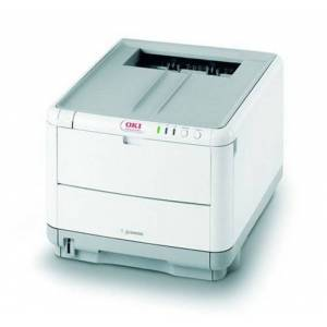 Oki C3400n - Printer - colour - LED - Legal, A4-1200 dpi x 600 dpi - up to 20 ppm (mono) / up to 16 ppm (colour) - capacity: 250 sheets - Hi-Speed USB, 10/100Base-TX