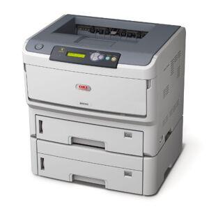 Oki B840DTN Mono Workgroup Laser Printer (Duplex,2nd Tray,Networked)