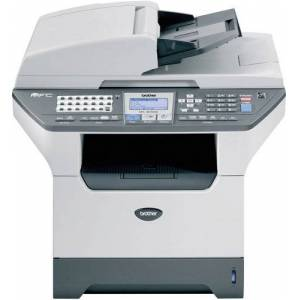 Brother MFC-8860DNU1 Laser All-in-One Printer with Networking and Duplex, 30ppm