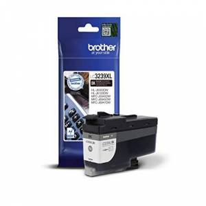 Brother LC-3239XLBK Inkjet Cartridge, Black, Single Pack, Ultra High Yield, Includes 1 x Inkjet Cartridge, Brother Genuine Supplies