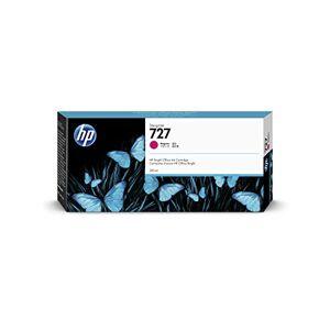 HP 727 F9J77A Magenta 300-ml Genuine HP DesignJet Ink Cartridge, high capacity,original HP Ink, for HP DesignJet T2500, T1500 & T900 Series Large Format Plotter Printers and HP 727 DesignJet Printhead