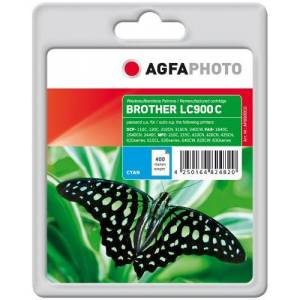 AgfaPhoto LC900C Ink Catridge for Brother DCP-110 - Assorted Colours