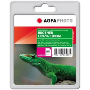 AgfaPhoto LC970M/LC1000M Ink Catridge for Brother MFC-240C - Assorted Colours