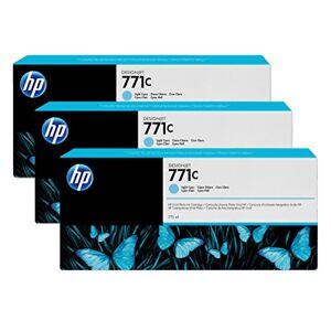 HP 771C 3-Pack 775-ml Light Cya