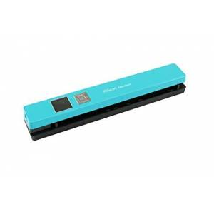 IRIS IRISCan Anywhere 5 cut sheet scanner (USB and battery operated 300/600/1200 dpi JPEG / PDF 1.44 TFT color display) turquoise