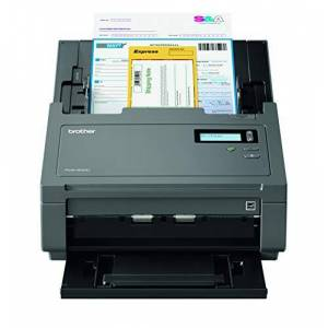 Brother PDS-6000 Document Scanner, Professional High Speed Scanner, PC Connected, 2 Sided Scanning, Desktop, Advanced Image Processing