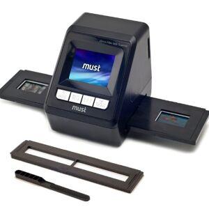 Mustek Home Office-Mustek 98-328-00080 Colour Film Scanner - Black