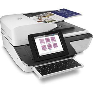 HP ScanJet Enterprise Flow N9120 fn2 8-inch 120ppm/240ipm 200 Sheets 75gsm Ethernet 10/100/1000 USB Flat Panel Document Scanner - White