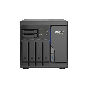 QNAP TS-H686-D1602-8G 6 Bay Desktop NAS Enclosure - 4 x 2.5 GbE Ports, 4 x 3.5 Inch Drive Bays & 2 x 2.5 Inch SATA Drive Bays